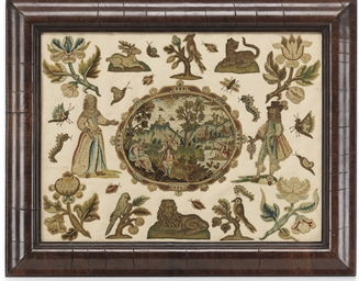 A CHARLES I PANEL OF REAPPLIED