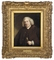 Portrait of Dr Samuel Johnson (1709-1784), half-length, in a brown coat and waistcoat, a cane in his left hand