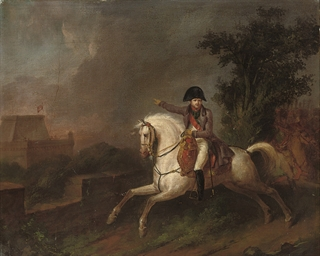 Equestrian portrait of Napoleo