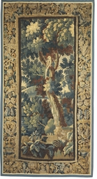 A LOUIS XIV VERDURE TAPESTRY F