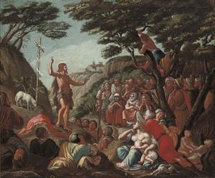 Saint John the Baptist preachi