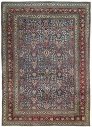 An antique Doroksh carpet