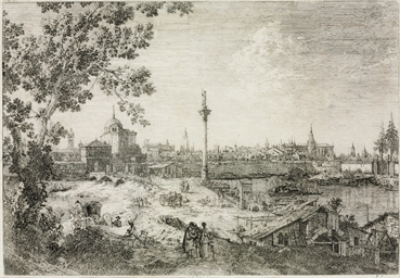 Imaginary View of Padua (B. 11