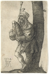 The Bagpiper (B. 91; M., Holl.