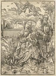 The Holy Family with three Har