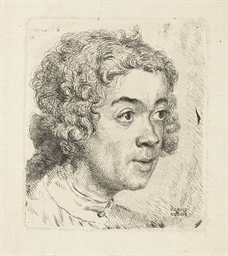Self-Portrait as a young Man (