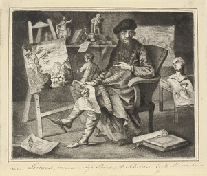 Liotard in his Studio (T. 6; R