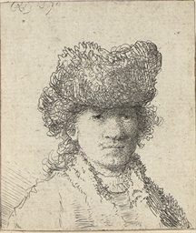 Self-Portrait in a Fur Cap: Bu