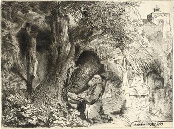 Saint Francis beneath a Tree p