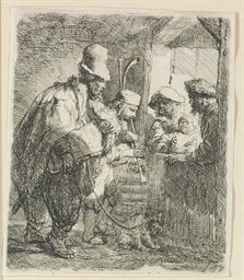 The Strolling Musicians (B., H