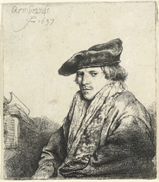 A young Man in a velvet Cap (F