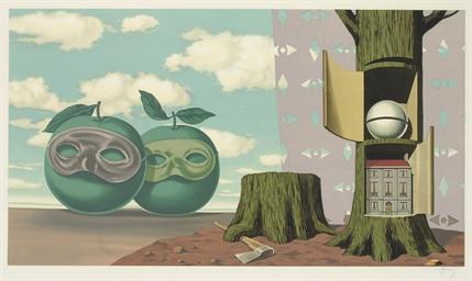 Les Enfants Trouvé de Magritte