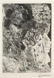 Rembrandt à la Palette, from L