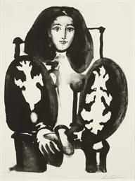 Femme au Fauteuil No. 1 ('Le M