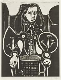 Femme au Fauteuil No. 4 (B. 58