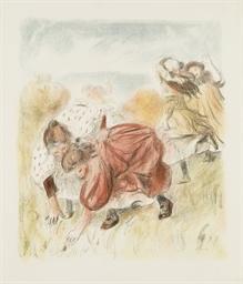 Enfants jouant à la Balle (Del