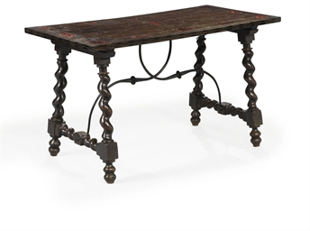 TABLE ESPAGNOLE DANS LE STYLE