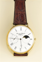 A large 18ct. gold moonphase w