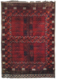 A Hatchley rug & Shiraz rug