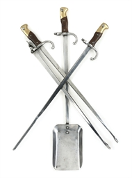 A SET OF THREE FRENCH BAYONET