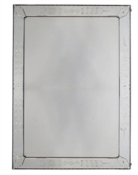 A RECTANGULAR ETCHED GLASS WAL