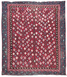 A antique Anatolian kilim