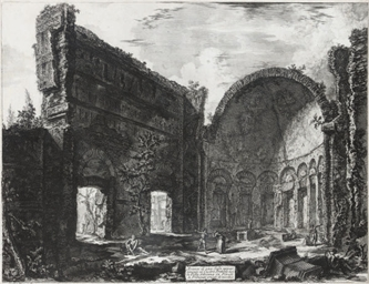 Hadrian's Villa: The Apse of t