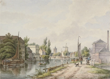 View of Schiedam, Holland