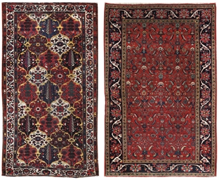 A Bakhtiari rug & North-West P