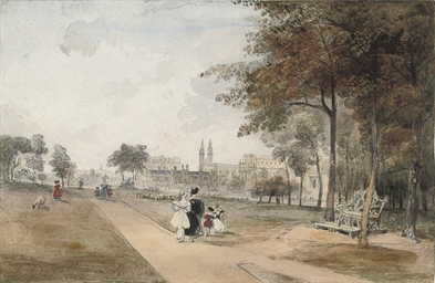 View of Regent's Park, London