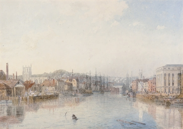 The docks at Bristol