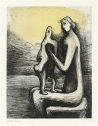 Mother and Child IV, from Moth