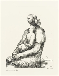 Mother and Child XVII from the