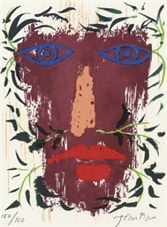 Foliate Head from 'John Piper'