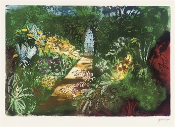 Summer Garden, Fawley Bottom (