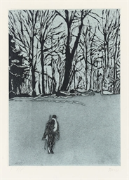 White Out from Ten Etchings (P