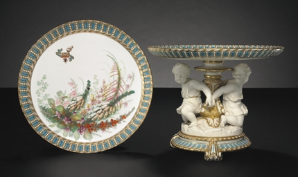 A PAIR OF ROYAL WORCESTER 'JEW