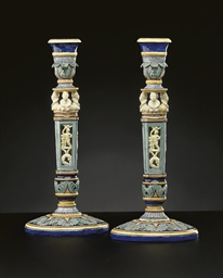 A PAIR OF WEDGWOOD 'CINQUE CEN