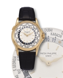 *PATEK PHILIPPE, WORLD TIME, R
