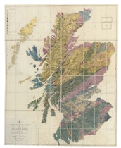 MACCULLOCH, John (1773-1835) A Geological Map of Scotland Lo
