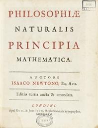 NEWTON, Isaac (1643-1727).  Ph