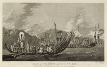 A collection of 62 views, maps and portraits from the published account of Captain Cook's Second Voyage
