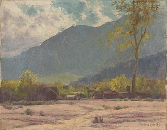 A homestead, California