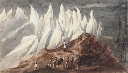 Glacier de Rosenlaiui; Entranc