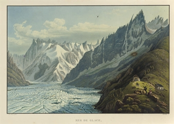 Mer de Glace, Vue du Montanver