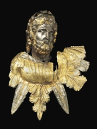 A LATE HELLENISTIC PARCEL-GILT
