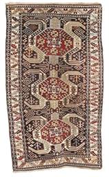 An antique Lenkoran rug