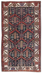 An antique Luri rug