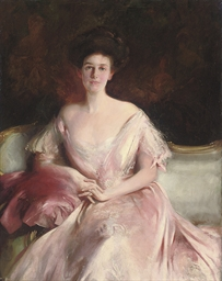 Portrait of Miss Baird, seated