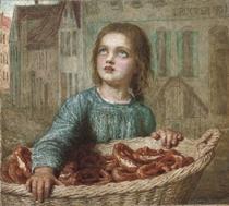 The little pretzel seller
